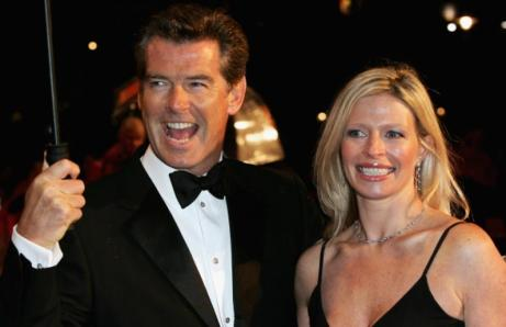 Pierce Brosnan and Charlotte