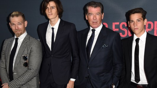 Pierce Brosnan ans sons