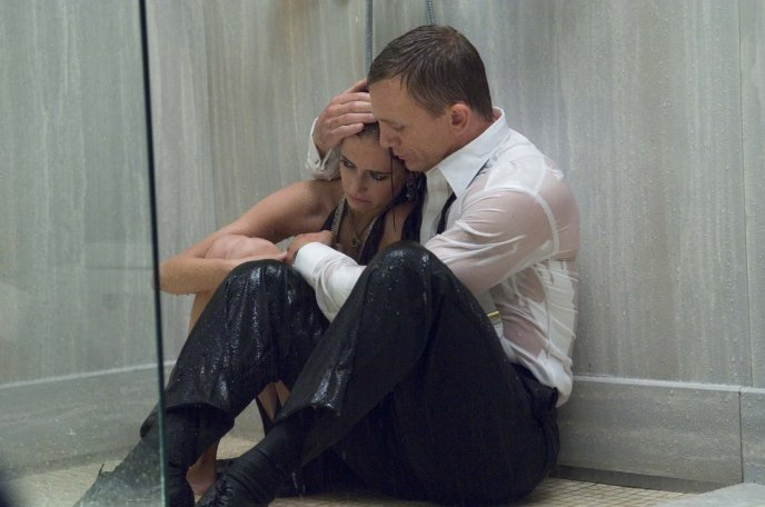 Daniel Craig and Eva Green in 'Casino Royale'