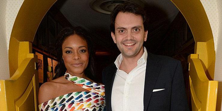 Naomie and her boyfriend
