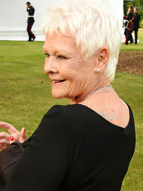 GUILDFORD, ENGLAND - JUNE 09: Dame Judi Dench attends the Duke of Edinburgh Award 60th Anniversary Diamonds are Forever Gala at Stoke Park on June 9, 2016 in Guildford, England. (Photo by David M. Benett/Dave Benett/Getty Images for Duke of Edinburgh Award )