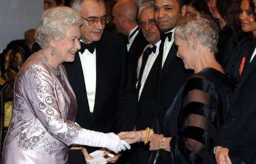 Her Majesty and Judi Dench