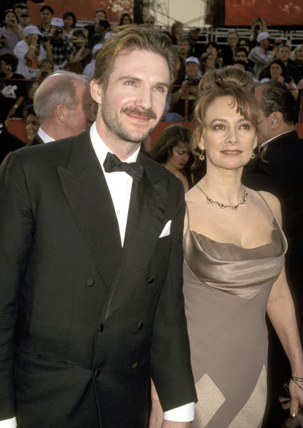 Ralph Fiennes and Francesca Annis The 69th Annual Academy Awards - Arrivals Shrine Auditorium Los Angeles, California United States March 24, 1997 Photo by Ron Galella/WireImage.com To license this image (6136580), contact WireImage.com