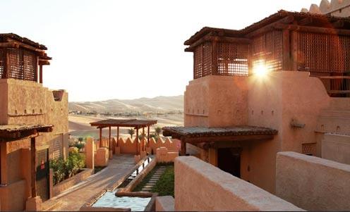 Resort of Qasr Al Sarab