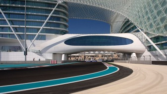 Yas Island Formula 1 circuit interior