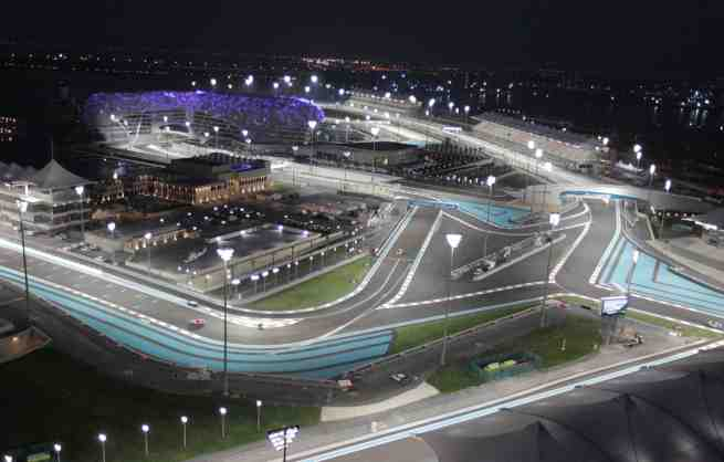 Yas Island Formula 1 circuit