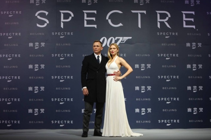 Premire of SPECTRE in China