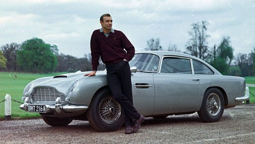 The DB5 in GOLDFINGER